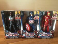 "Marvel Captain America Civil War Titan Hero Series 12"" Figures Complete Set of 3"