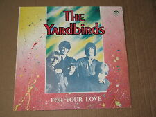 "THE YARDBIRDS ""For Your Love""   pre. Russian Disc Russia VERY RARE lp NM"
