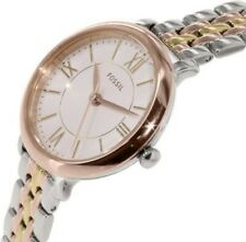 FOSSIL ES3847 Jacqueline Two-Tone Stainless Steel White Dial Women's Watch $135
