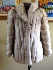 Excellent condition Norwegian  FOX FUR Short Coat  medium or 8-10