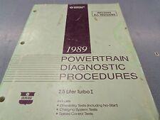 CHRYSLER 89-90 EAGLE PREMIER AND 1990 DODGE MONACO 3.0L POWERTRAIN DIAGNOSTIC