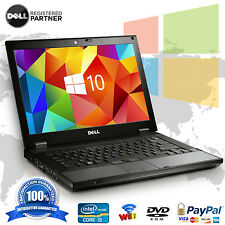 DELL LAPTOP COMPUTER WINDOWS 10 LATITUDE E6410 CORE i5 4GB 500GB DVDRW NOTEBOOK