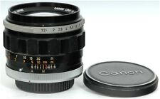 Canon FL 55mm f/1.2 Prime Lens FULL FRAME DX DIGITAL and VIDEO ADAPTABLE
