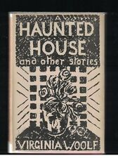 Virginia Woolf A Haunted House 1st Printing 1st State DJ w WWII Advertisement