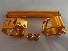 Lenkerschellen Lenker Handle bar Set DUCATI 748 749 916 996 999  gold 53mm