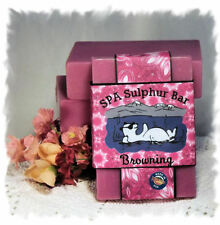 Blackberry Sage_Browning_ SPA Sulphur Soaps Made in Montana_Handmade Natural