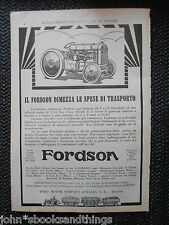 1928 FORDSON TRATTORE TRATTRICE AGRICOLA ANNI 20 OLD TRACTOR FORD 1920'S FARM
