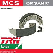 Jeu 2 Machoires de frein Arrière TRW Lucas MCS800 Honda NS 125 F 86-93