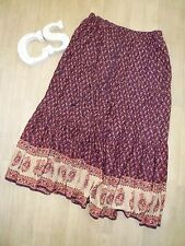 Vtg ETHNIC Indian Coachella Bohemian BOHO Hippy Free People FULL MAXI skirt 14
