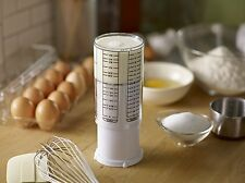 KitchenArt White Adjust-A-Cup 2 Cup Adjustable Measuring Cup Liquid & Dry Slides