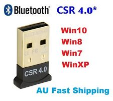 USB Mini Bluetooth 4.0 Dongle Wireless Adapter For Laptop PC Windows 3Mbps Speed