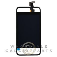 LCD Digitizer Frame Assembly for Apple iPhone 4 CDMA Transparent/Black  Front