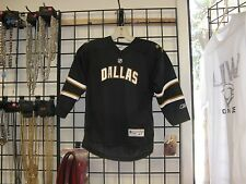 NHL-DALLAS STARS BLACK JERSEY/SHIRT BY REEBOK CHILD SIZE 4-7 -LAST ONE