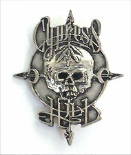 CYPRESS HILL CLASSIC SKULL POT LEAF LOGO METAL STICK PIN NEW OFFICIAL