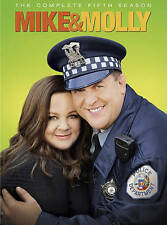 Mike and Molly: The Complete Fifth Five 5 Season (DVD, New)
