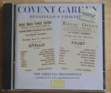 Covent Garden Live - Zenatello and Chaliapin (CD)