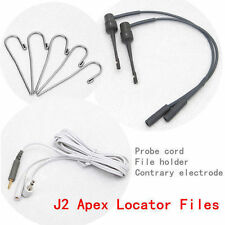 Dental Endodontic Apex Locator Root Canal Finder Testing Probe Cord Files Fit J2