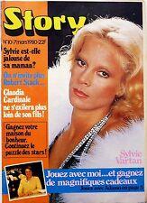 """Mag très rare BELGIQUE 1980: SYLVIE VARTAN_ROBERT STACK_BETTE MIDLER """"The Rose"""""""
