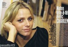 COUPURE DE PRESSE CLIPPING 2006 CHARLENE WITTSTOCK  (6 pages)