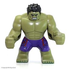 LEGO Super Heroes: Avengers MiniFigure - The Hulk (Dark Purple Pants) 76031