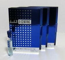 New In Card Dunhill X-Centric EDT Vials For Men 1.7ml 0.06 oz Lot Of 3