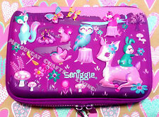 "HOT! SMIGGLE Girl's SCENTED Hardtop Pencil Case ""Party"", Magical Forest"