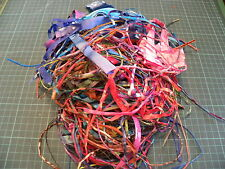 BATIK FABRIC SCRAPS - ideal ONLY for confetti quilts/art quilts