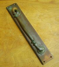 Old Victorian bronze pull door handle shop/pub Architectural Antique Hardware
