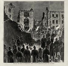 CLERKENWELL PRISON OUTRAGE, MIDDLESEX House Detention FENIAN IRISH REPUBLIC 1867