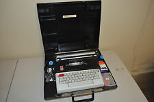 OLIVETTI LETTERA 36 ELECTRIC TYPEWRITER VINTAGE GERMAN MADE W/ HARD CARRY CASE