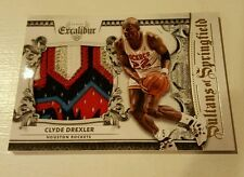 Panini Excalibur 2014-15 Clyde Drexler Sultans of Springfield Primed Patch #5/5