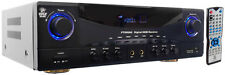 PT590AU 5.1 Ch 350W Built-In AM FM HDMI Amp Receiver W/3D Pass-Thru
