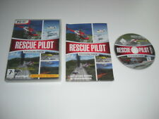RESCUE PILOT - MISSION PACK Pc DVD Rom Add-On Flight Simulator Sim X  FSX