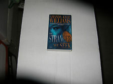 The Stranger You Seek  by Amanda Kyle Williams (2012, Paperback) SIGNED 1st/1st