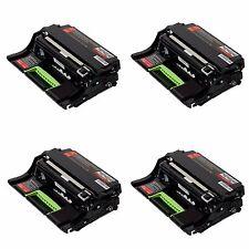 4 Pk Lexmark MX610de MX511dte MX511dhe MX511de MX510de MX410de MX310dn MS610dtn