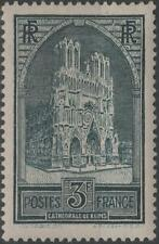 """FRANCE STAMP TIMBRE N° 259 """" CATHEDRALE REIMS 3F TYPE I """" NEUF xx TTB  H255"""