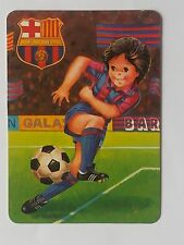 CALENDARIO  FUTBOL CLUB BARCELONA 1989.