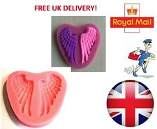 3D Angel Wings Silicone Mould Fondant Cake Topper Modelling Tools