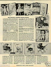 """1957 PAPER AD Besty Wetsy Weeping 15"""" Heinz Baby Doll Walt Disney Mousketeer"""
