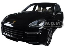 2014 PORSCHE CAYENNE TURBO S BLACK METALLIC LTD 1500PC 1/18 MINICHAMPS 110064000