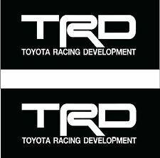 TRD TOYOTA STICKER VINYL DECAL VEHICLE CAR WALL LAPTOP