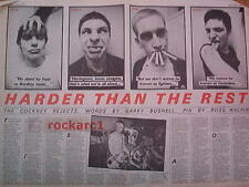 COCKNEY REJECTS Harder Than The Rest 1980 UK ARTICLE / clipping 24x16 inches