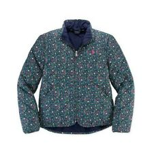 Polo Ralph Lauren diamond quilted Pony Floral Jacket NWT $110.00 sz 6X  light