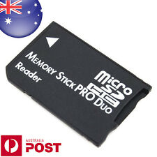 Micro SD SDHC TF to Memory Stick MS Pro Duo Reader PSP Adapter Converter - C190