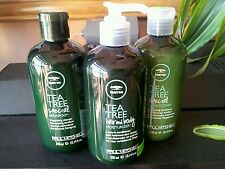 Paul Mitchell Tea Tree Special Shampoo , Conditioner , Moisturizer ( Gift Set )