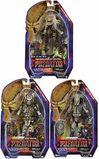 "NECA PREDATOR Series 16 SET OF 3 SPIKED TAIL STALKER & GHOST 7"" Figures Alien"