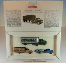 Wiking 1/87 set hitos de la historia Wiking 3 Chevrolet modelos OVP #867