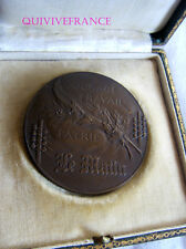 MED4142  - MEDAILLE COURAGE TRAVAIL PATRIE  - JOURNAL LE MATIN - FRENCH MEDAL