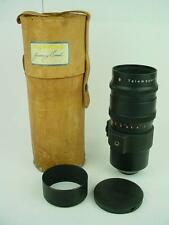 Meyer Optik Gorlitz 300mm F/4.5 Telemegor Exakta Mount Lens-Gorgeous Glass !