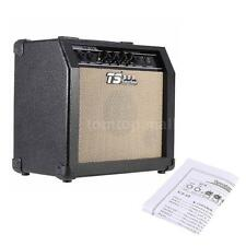 GT-15 3-Band EQ 15W Electric Guitar Amplifier Amp Distortion Professional D7V3